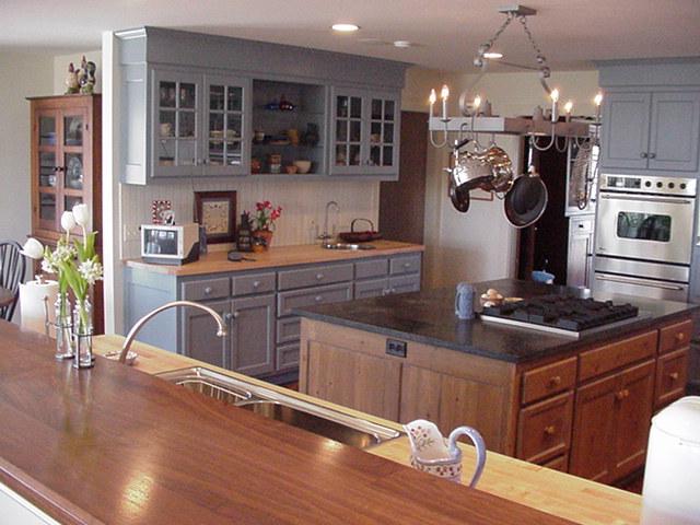 kitchen cabinet makeover rental