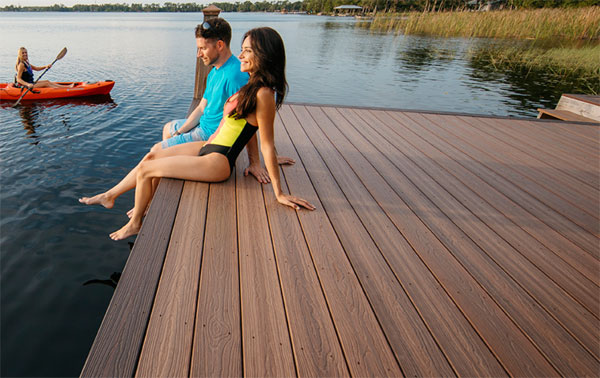 Evergrain Spiced Teak Decking